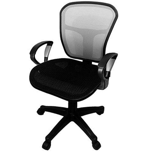 【凱堡】 Cloud全網透氣辦公椅/銀段扶手電腦椅