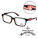 Vivienne Westwood 英國Anglomania英倫龐克徽章光學眼鏡(琥珀) AN24102
