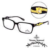 Vivienne Westwood 英國Anglomania英倫龐克徽章光學眼鏡(黑) AN24105