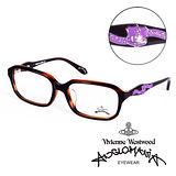 Vivienne Westwood 英國Anglomania英倫龐克徽章光學眼鏡(琥珀) AN24202
