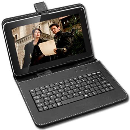 【Super Pad】9吋 平板專用 鍵盤皮套 可立式 注音鍵盤