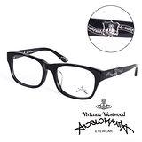 Vivienne Westwood 英國Anglomania英倫龐克徽章光學眼鏡(黑)AN24601