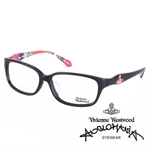 Vivienne Westwood 英國薇薇安魏斯伍德經典土星環款(黑+紅格紋)VW26203