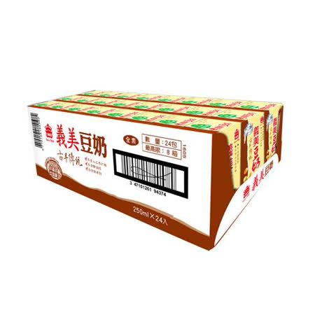 義美古早傳統豆奶250ML*24