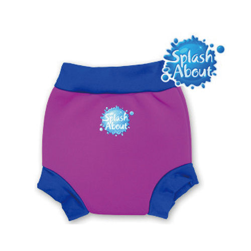 潑寶 Splash About - Happy Nappy 游泳尿布褲 - 桃紅 / 寶藍