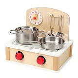 德國Hape愛傑卡-角色扮演系列攜帶式小廚房