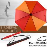 【德國 EuroSCHIRM】BIRDIEPAL OUTDOOR 戶外專用風暴傘(非折疊傘).晴雨傘/W208-CW5 橘