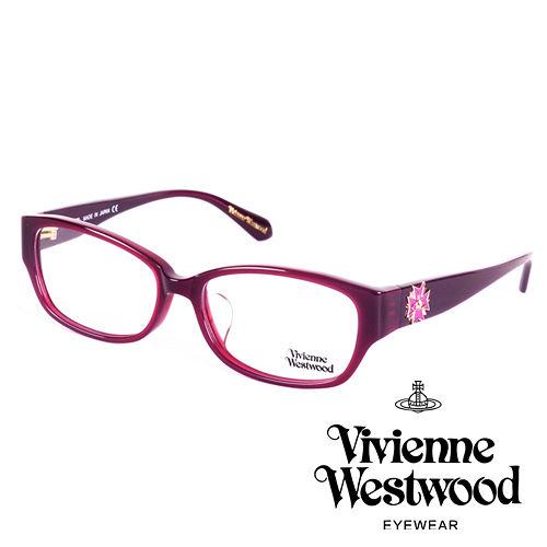 Vivienne Westwood 英國薇薇安魏斯伍德立體龐克多邊形土星款(紫面紫logo)VW27304