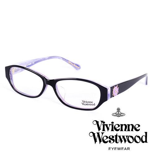 Vivienne Westwood 英國薇薇安魏斯伍德立體龐克多邊形土星款(木紋紫logo)VW27402