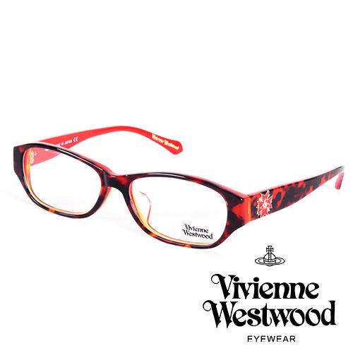 Vivienne Westwood 英國薇薇安魏斯伍德立體龐克多邊形土星款(琥珀紅logo)VW27403