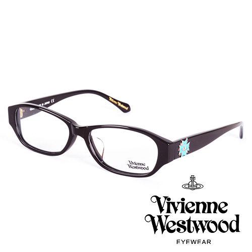Vivienne Westwood 英國薇薇安魏斯伍德立體龐克多邊形土星款(黑面水藍logo)VW27404