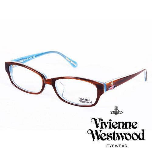Vivienne Westwood 英國薇薇安魏斯伍德立體浮雕七彩土星還款(咖啡+藍)VW27503