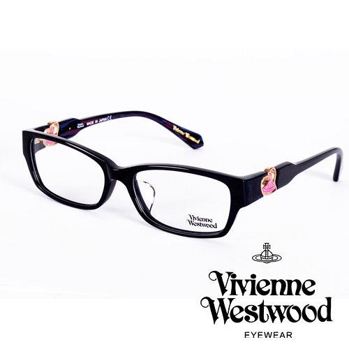 Vivienne Westwood 英國薇薇安魏斯伍德立體浮雕心型土星款(黑+粉)VW27604