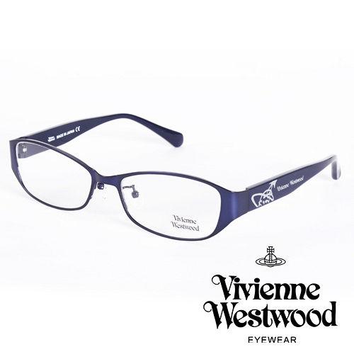 Vivienne Westwood 英國薇薇安魏斯伍德金屬惡魔經典土星款(寶藍)VW27702
