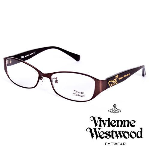 Vivienne Westwood 英國薇薇安魏斯伍德金屬惡魔經典土星款(棕)VW27704