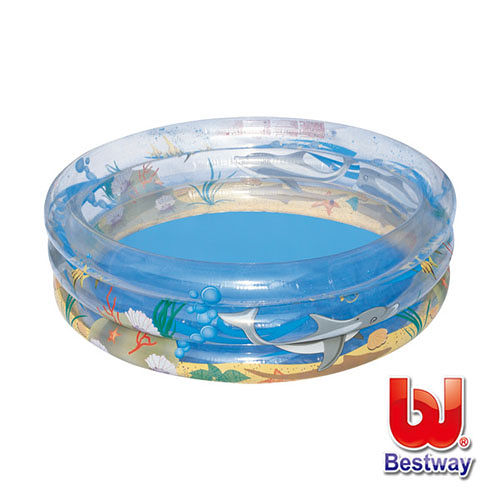 《購犀利》美國品牌【Bestway】海洋世界充氣水池