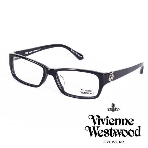 Vivienne Westwood 英國薇薇安魏斯伍德十字土星環個性款(黑)VW26101