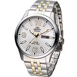 ORIENT 東方 創新時尚機械腕錶 FEM7P007W