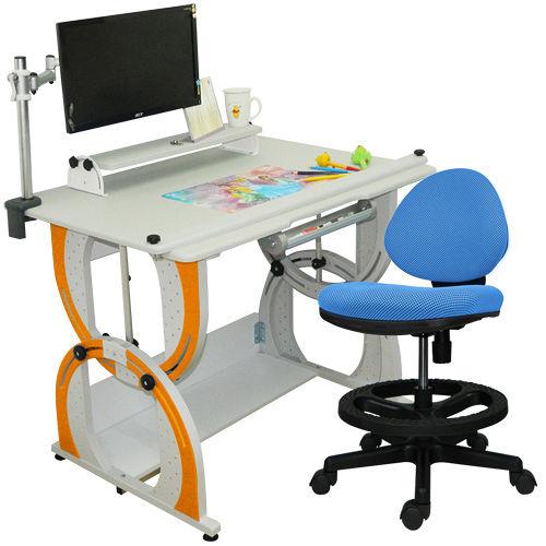 HAPPYHOME 愛德華兒童成長書桌椅組DE~100A C M2 12色