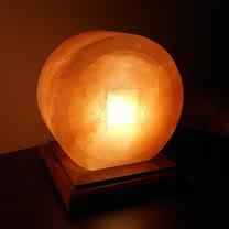【Naluxe】義大利設計水晶鹽燈-金通寶(特價品)
