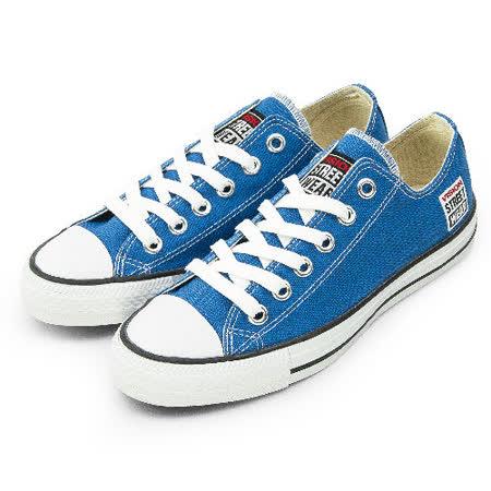 男 VISION STREET WEAR 經典帆布鞋 藍 V22011 -friDay購物
