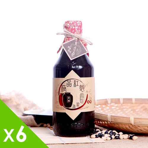 【黑豆桑】天然極品養生紅麴醬油(6瓶)