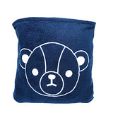 英國熊 150X180二用抱枕毯-袋裝