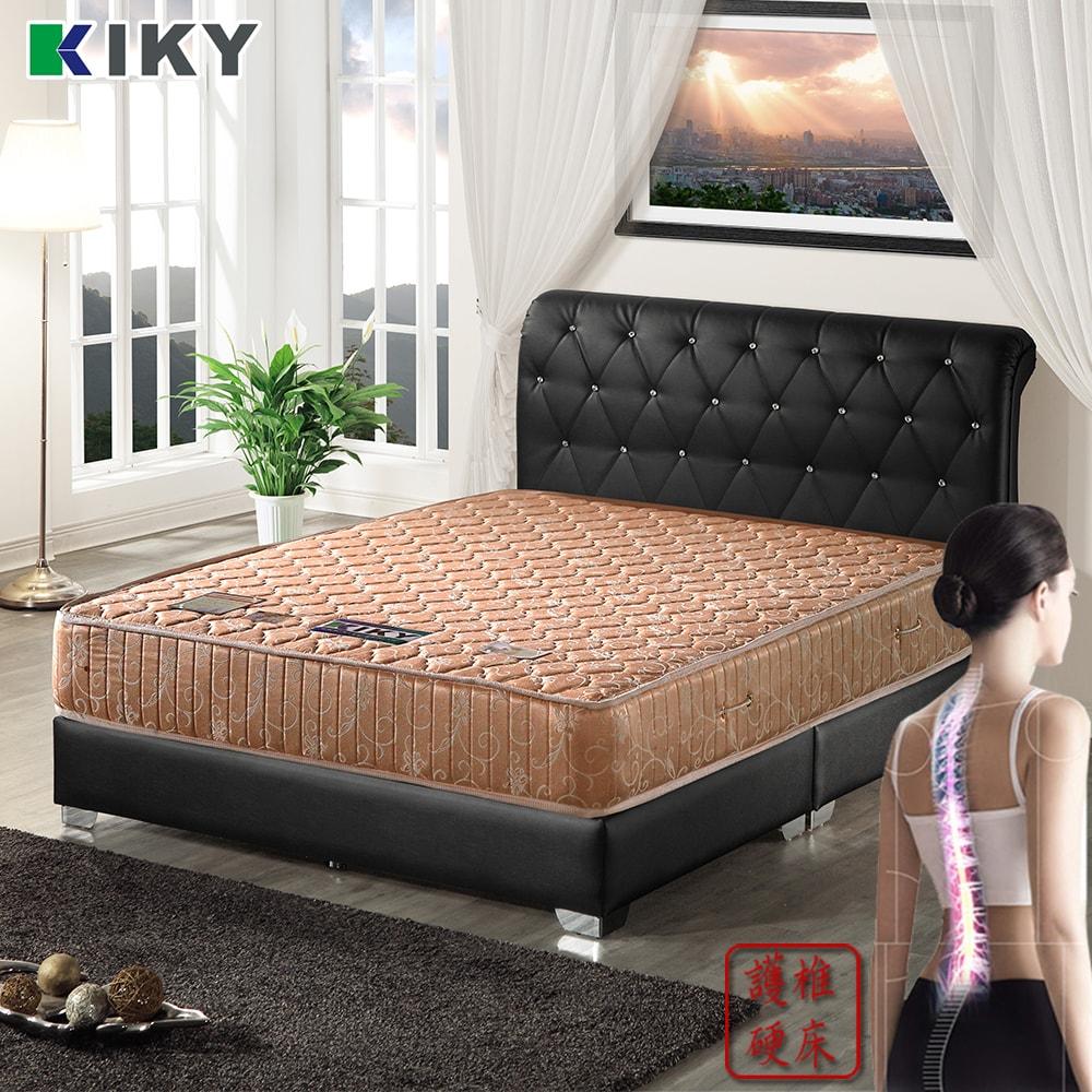 【KIKY】一代德式旗艦二線護背彈簧雙人加大床墊6尺-YY
