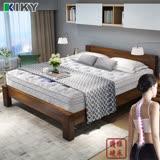 【KIKY】二代德式療癒型舒眠護背彈簧單人加大床墊3.5尺-YY