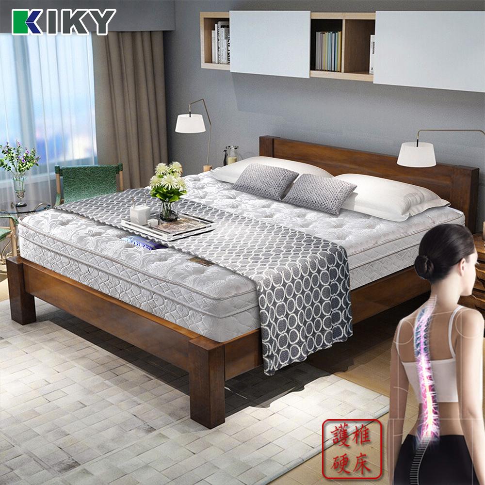 【KIKY】二代德式療癒型舒眠護背彈簧雙人床墊5尺-YY