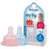 優生矽晶防脹氣奶嘴寬口標準(M/L)