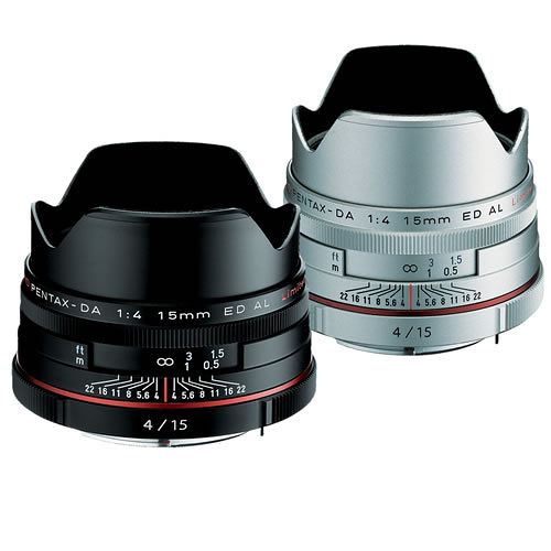 PENTAX HD DA 15mm F4 ED AL Limited (公司貨) - 【新】HD鍍膜鏡頭