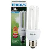 飛利浦 經濟型3U省電燈泡-白光(18W)