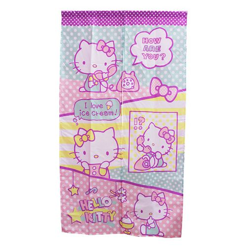 Hello Kitty趣味長門簾85x150cm KT0519