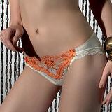 【LADY】蜜莉恩系列 低腰三角褲(香甜橘)