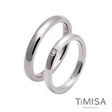 【TiMISA】單純+愛戀 純鈦對戒