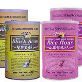 【台灣綠源寶】天然養生穀粉4罐組 500g/罐(堅果黑豆粉*2+山藥紫米粉*2)