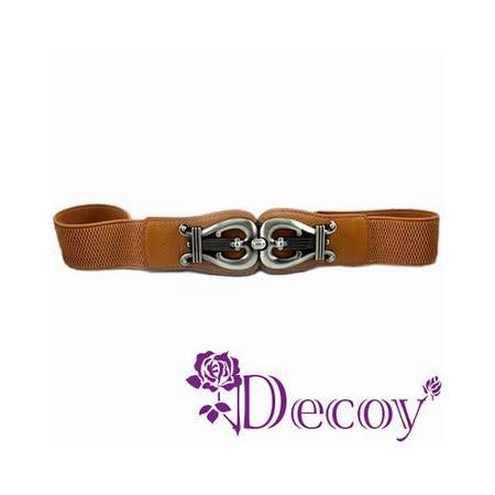 《Decoy》悸動旋律*金屬彈性腰封/咖