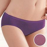 【華歌爾】竹炭纖維單品褲M-LL中腰高裾三角褲(竹炭粉)