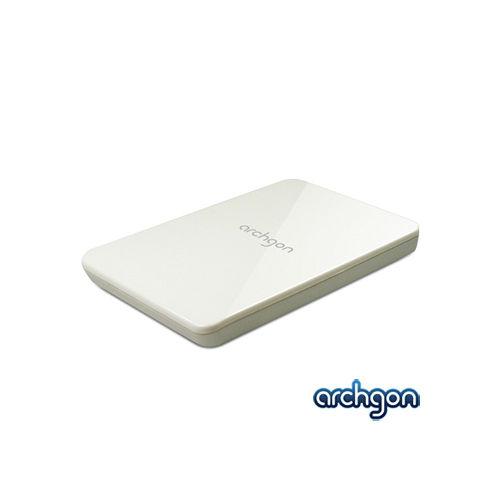 archgon亞齊慷 USB 3.0 免螺絲 2.5吋SATA硬碟外接盒 MH-2619 Sky - 亮麗白