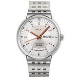 MIDO All Dial 1918 羅馬競技系列限量機械腕錶-銀 M83404121