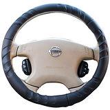 OMAX 手工製賽車型方向盤套(M)