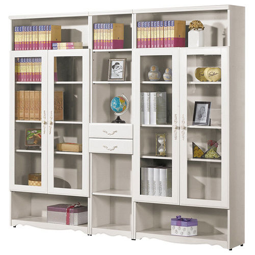 HAPPYHOME 仙朵拉6.7尺組合書櫃348b-1