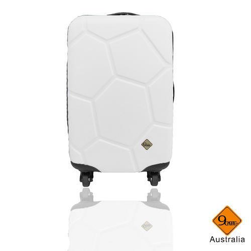 Gate 9 經典世紀足球系列ABS輕硬殼行李箱20吋