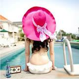 【PS Mall】成熟清涼夏天女士草編 太陽帽 沙灘帽 (G595)