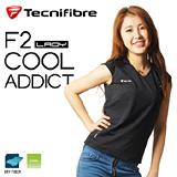 Tecnifibre Cool Lady Addict 超涼感速乾女短袖上衣(黑)