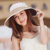 【OUTBOUND】韓版女用夏日遮陽捲捲草編帽/防曬遮陽帽(8色可選)