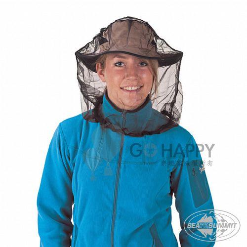 SEATOSUMMIT 輕量耐用防蚊帽(標準款)(黑色)