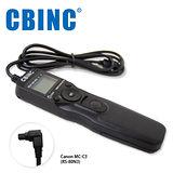 CBINC C3 液晶定時快門線 相容 CANON RS-80N3/TC-80N3