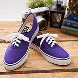 中國強 MIT 百搭潮流功夫鞋H595(深紫)女鞋